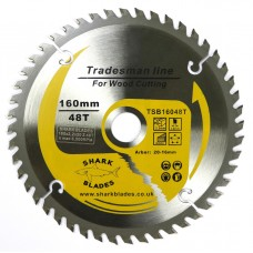 Tradesman Line TCT Circular Saw Blade 160mm 48 Teeth