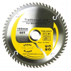 Tradesman Line TCT Circular Saw Blade 160mm 60 Teeth