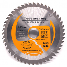Tradesman Line TCT Circular Saw Blade 165mm 48 Teeth