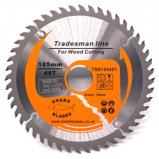 Tradesman Line TCT Circular Saw Blade 185mm 48 Teeth