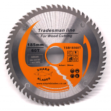 Tradesman Line TCT Circular Saw Blade 185mm 60 Teeth
