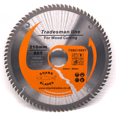 Tradesman Line TCT Circular Saw Blade 210mm 80 Teeth