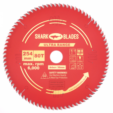 Ultra Range TCT Circular Saw Blade 254mm 80 Teeth
